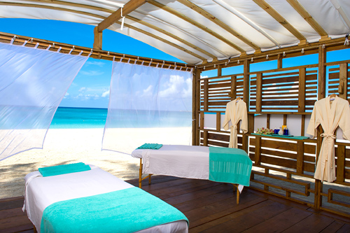 Couple�s Beach Massage at the Hibiscus Spa